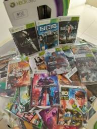 Xbox 360 completo e desbloqueado