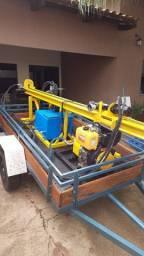 Vende Perfuratriz hidráulica para poço Semi Artesiano