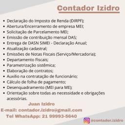 Título do anúncio: Contador - Declaração Imposto de Renda IR e MEI (Micro Empreendedor)
