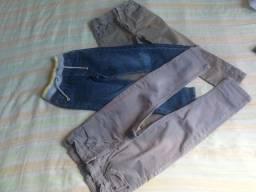Lote de calças jeans 3 anos