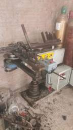 Curvador de tubo mecânico modelo: ga2mp marca aga (usado)