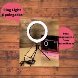 RING LIGHT SUPORTE DE CELULAR GRÁTIS