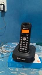 Telefone Panasonic sem fio novo