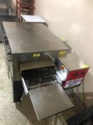 Título do anúncio: Forno Para Pizzas De Esteira Tupasy Am 85/1 Seminovo