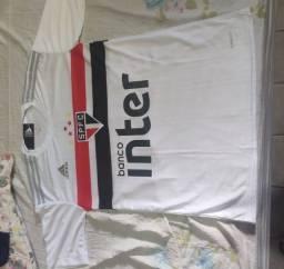 Camisa de time de futebol São Paulo 21/22