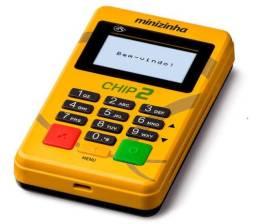 Máquininha de cartão minizinha chip 2