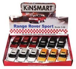 Caixa 12 Miniaturas Land Rover Sport para Revenda