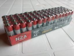 Título do anúncio: Pacote de Pilhas AA ou AAA (60 Unidades)