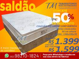 Super Promoção! Colchão Casal Ortobom 30CM Molas Ensacadas 1.399$! Frete Grátis