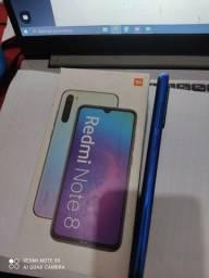 Título do anúncio: Redmi note 8 64gb Zero