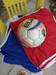 Bola Futsal + 12 coletes