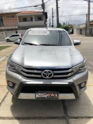 Toyota Hilux Srx 2017 Diesel Blindada Único Dono!!!