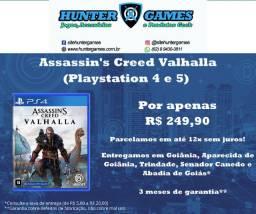 Assassins Creed Valhalla (PS4) Mídia Física Novo Lacrado Totalmente em Português