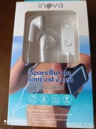 Fone de ouvido  pra celular  original  garantia