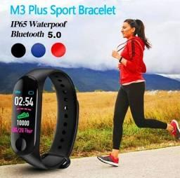 Relogio Smartband M3 Monitor Cardíaco Sono Saúde Passo Fitness