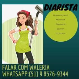 Título do anúncio: DIARISTA !!!!!