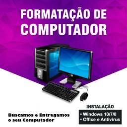 Formatacao de Computadores e Notebooks
