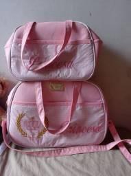 Vendo bolsa de bebê para menina