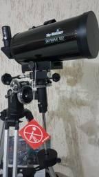 SKY-WATCHER SKYMAX 4POL.102mm., NOVO NA CAIXA E NUNCA USADO