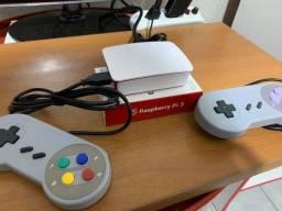 Sistema RecalBox e Retropi Raspiberry cartão/pendrive 16GB/32GB/64GB/128GB Retrogame