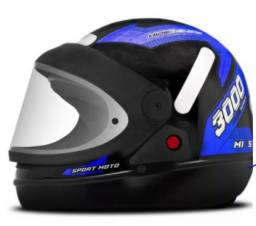 capacete azul camaçari