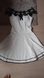 Vestido rodado delicado