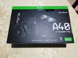 Título do anúncio:  Xbox Headset Astro A40 Tr MixAmp Pro Tr