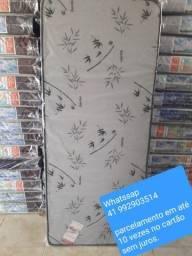 Colchão solteiro novo # parcelamento 10x sem juros no cartão
