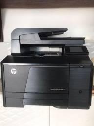 multifuncional impressora hp laserjet pro 200 color