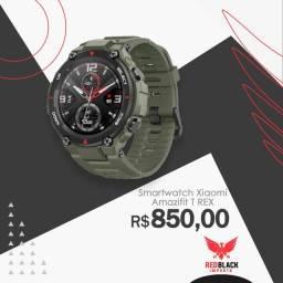 SmartWatch T rex relógio inteligente xiaomi melhor do mercado