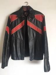 Título do anúncio: Jaqueta de Couro Motociclista