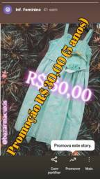 Título do anúncio: Roupas Femin / Infant & Adulta Novas. A partir de R$ 20,00