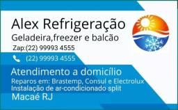 Conserto de geladeira e freezer