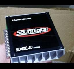Soundigital sd400d4 par de trixial Pionne