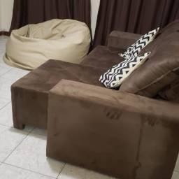 Oferta de sofá retrátil no tamanho 2m30
