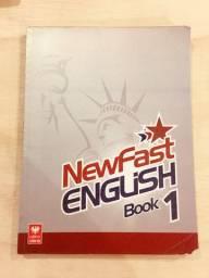 Livro: Newfast English Book 1 por Elton da Silva/Wellington da Silva