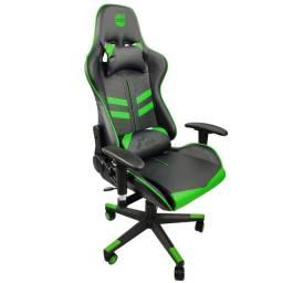 Cadeira Gamer Prime X ? Dazz | Preta e Verde | Lacrada com garantia