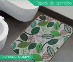 Tapete Banheiro Estampado Antiderrapante