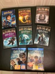 dvds harry potter + blu ray