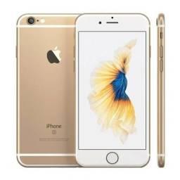Título do anúncio: Iphone 6S 128 GB Dourado - Sem Uso+case+película