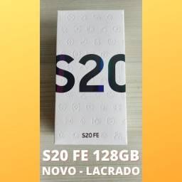 S20 FE 128gb Novo Lacrado Snapdragon