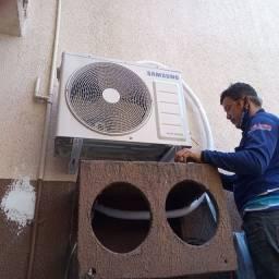 Título do anúncio: Refrigeração limpeza instalação manutenção serviços em geral aceitamos cartões