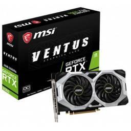Placa de Video MSI GeForce RTX2060 6GB Ventus OC