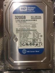 Hd Sata 320GB western digital