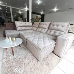 Sofá Riviera com R$:700,00 de (D.E.S.C.O.N.T.O) e em 12X Sem Juros!