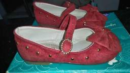 Sapato pimpolho tamanho 21 em excelente estado