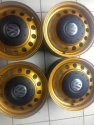 Jogo de roda aro 14 GM e Volks
