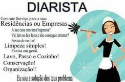 80 reais - Diaristas residencial e para empresas