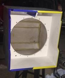 Caixa Grave Invertido 18 polegadas Estancia
