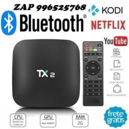 Tv Box Tx2 4k Quadcore 2gb/16gb Bluetooth
